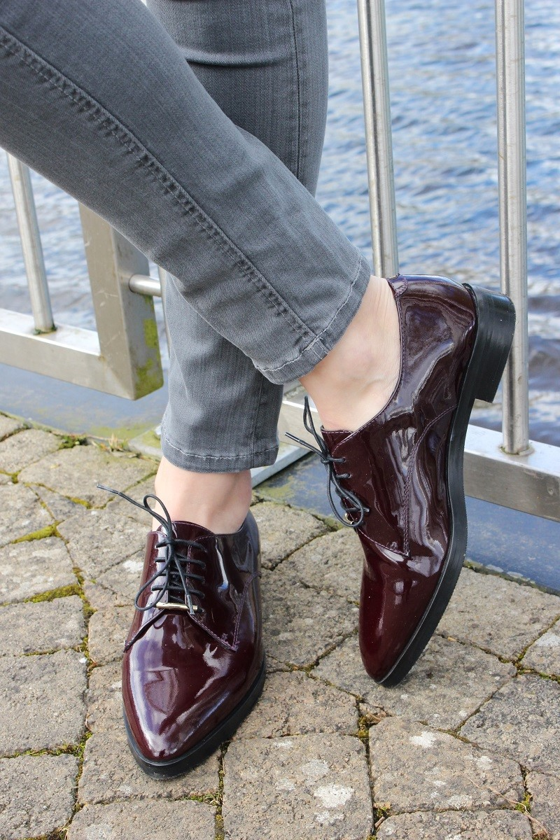 bruno premi oxfrord bordeaux shoes