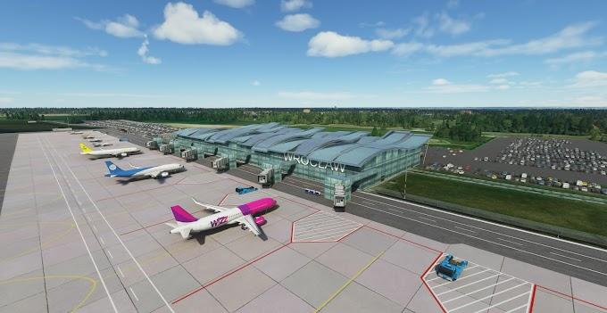 MSFS2020 - EPWR Wroclaw Strachowice Airport, Poland - V.1.1.1 [HD]