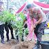 Kapolda  Sumsel ,Pangdam ll Sriwijaya Dan Gubernur Sumsel Tanam Bibit Pohon produktif