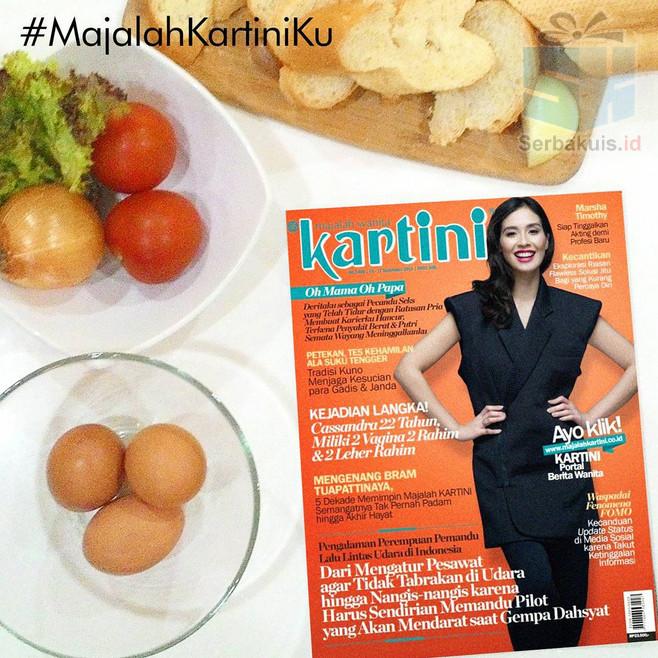 Kontes Selfie majalah Kartiniku Hadiah Voucher Thai Alley