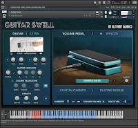 In Session Audio Guitar Swell KONTAKT Library