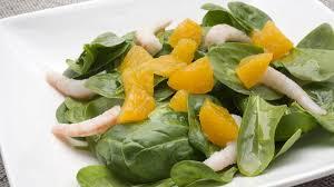 Ensalada de Espinaca y Naranja