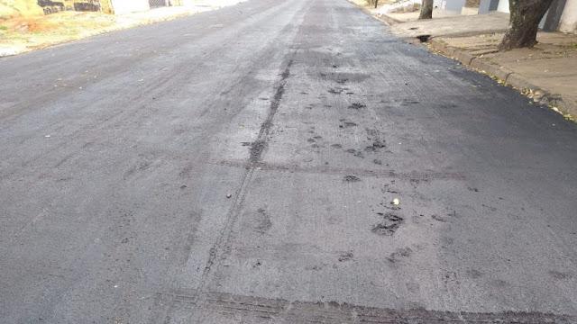 Moradores desrespeitam interdições da Prefeitura e danificam ruas recém recapeadas em Adamantina
