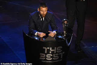 Three countries claim they DID NOT vote for Lionel Messi for The Best award