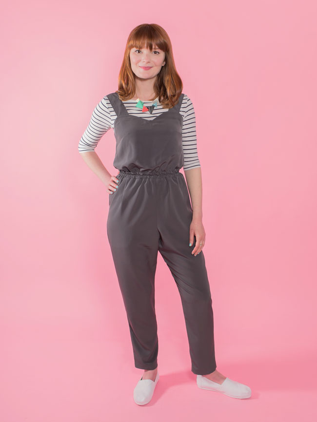 Marigold jumpsuit sewing pattern - Tilly and the Buttons