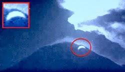 Ένα τεράστιο UFO έχει εντοπιστεί εξερχόμενο από ένα από τα μεγαλύτερα ηφαιστειακά του Μεξικού, το Popocatepetl, και οι «κυνηγοί των ΑΤΙΑ» πι...