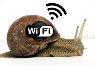 Rallentamento Wi-Fi