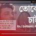 Toke Chai  (তোকে চাই) Lyrics - Raj Barman and Puja