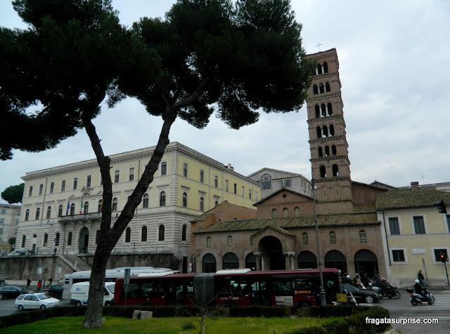 Igreja de Santa Maria in Cosmedin, em Roma