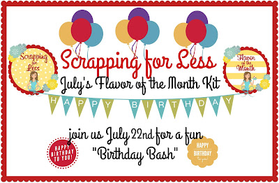 A Birthday Bash in July!