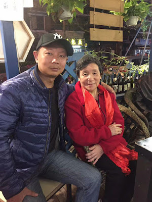 四川省成都市维权人士王蓉文日前刑满出狱