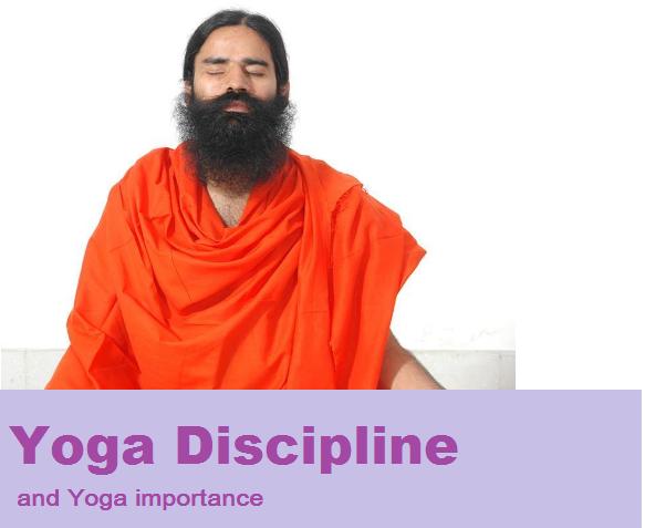yoga discipline &yoga importance-2020