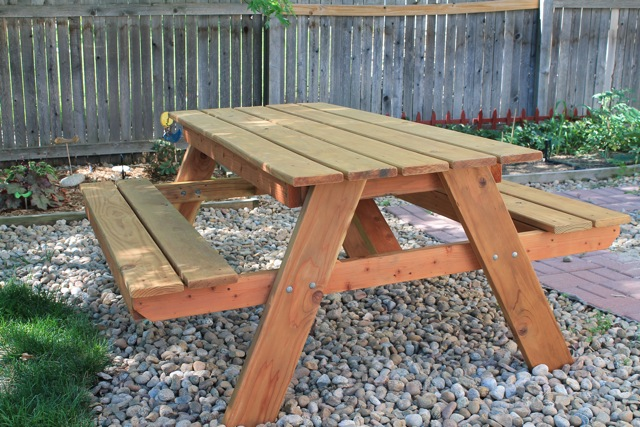 Ever Never Again We Built Picnic Tables