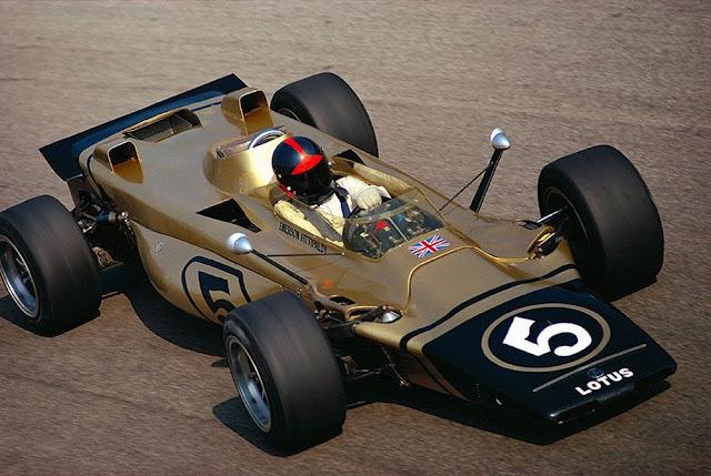 Lotus 56B 1970s F1 car