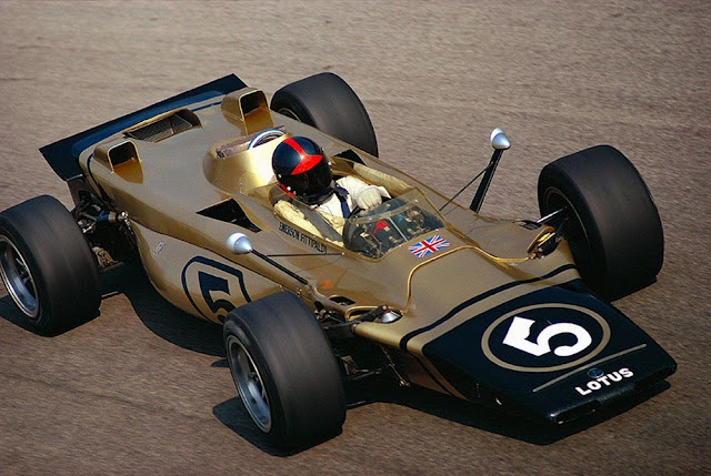 Lotus 56B 1970s classic British F1 car