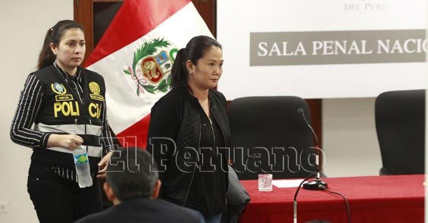 KEIKO FUJIMORI: Pena sería de entre 10 y 13 años de prisión, según informó juez Concepción Carhuancho