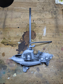 Primed Frigate with Zenithal applied