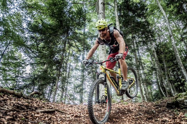 Hinterradversetzten Bikebergsteigen Be Outentic Rucksack Mountainbike