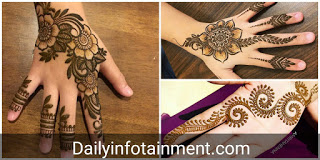 Arabic Mehndi Designs 2020 For Kids