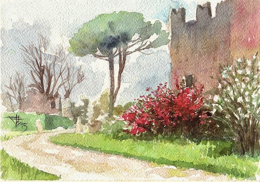 Marta cerrini blog gita ai giardini di ninfa for Disegno giardini