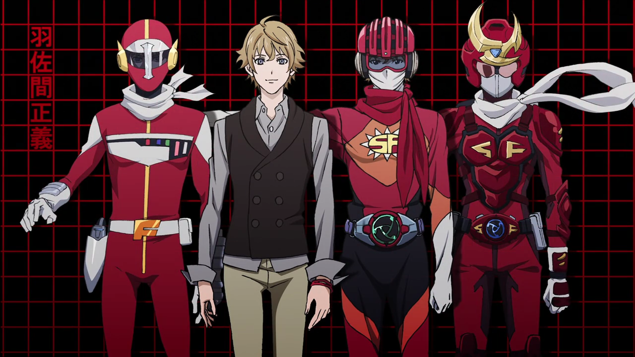 The various forms of Samurai Flamenco
