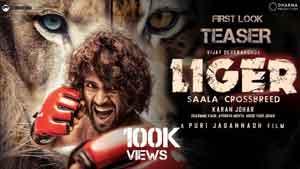 Vijay Deverakonda and Ananya Panday's film titled Liger