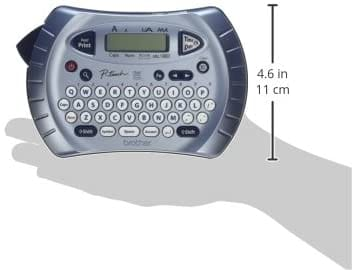 Review Brother PT70BM P-touch Label Maker Handheld Labeler