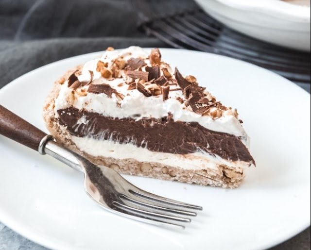 Arkansas Possum Pie #desserts #chocolate