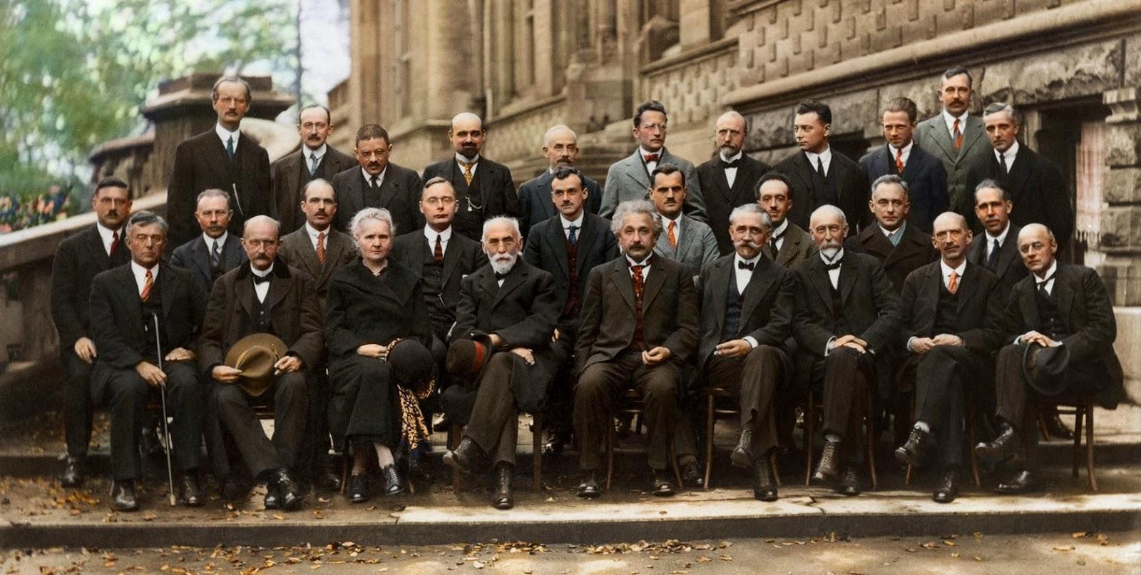 Solvay Conference, Scientists, Einstein, Smartest People