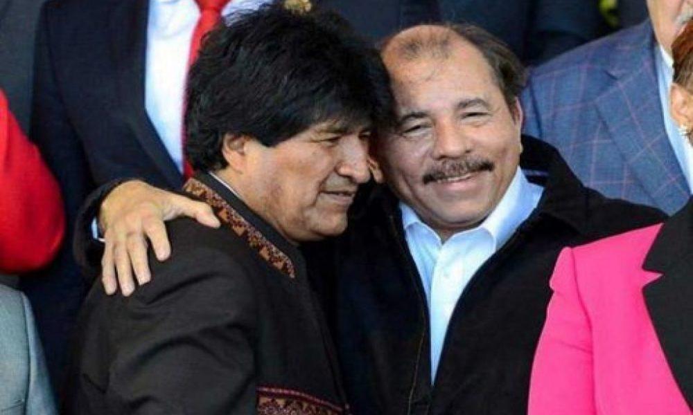 EVo y Ortega dos izquierdistas que se pasaron la CPE para aferrarse a la reelección / LA PRENSA NICARAGUA