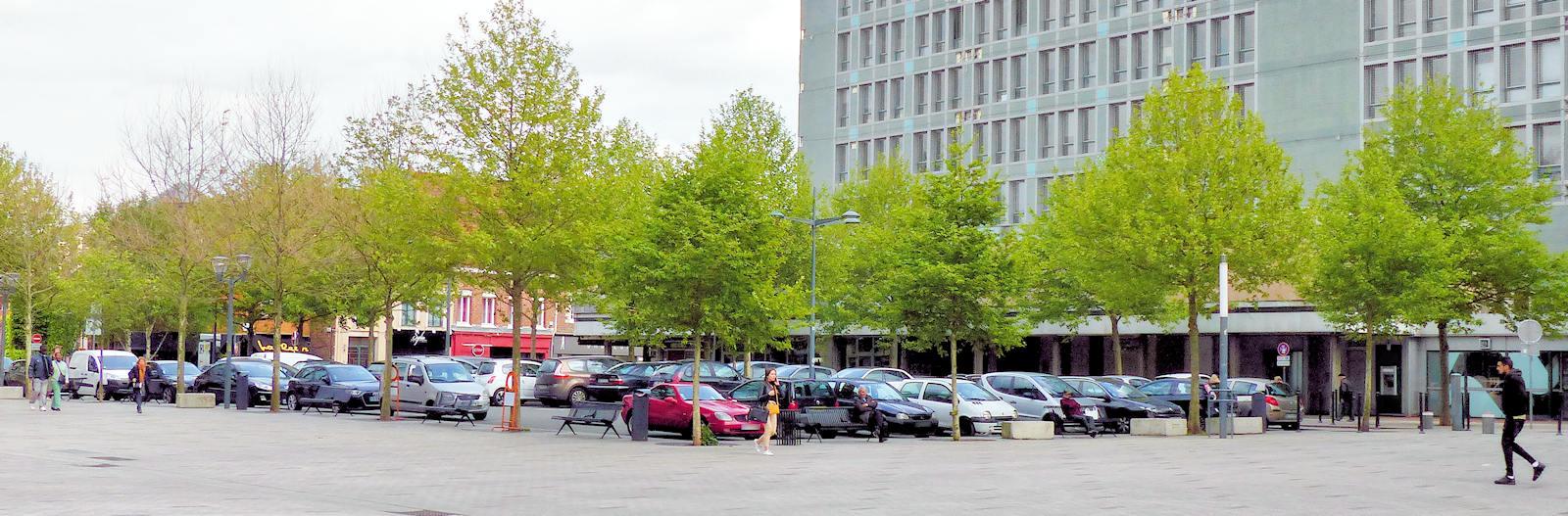 Parking Tourcoing Centre - Place de la Résistance.