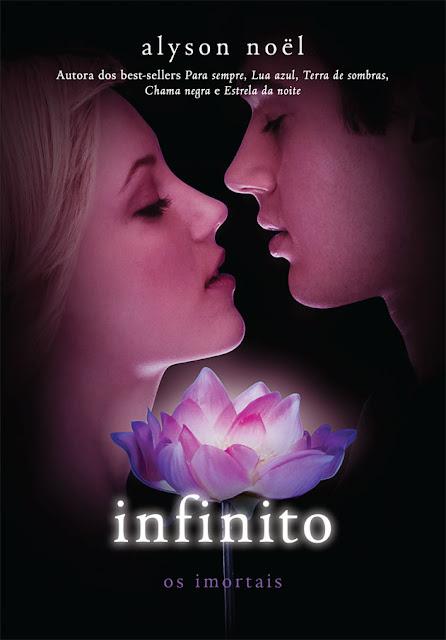 Capa do livro 'Infinito' , de Alyson Noe | Intrinseca 10