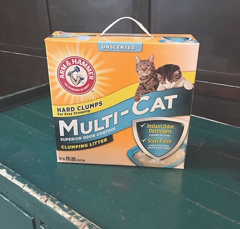 Arm & Hammer Multi-Cat unscented cat litter box