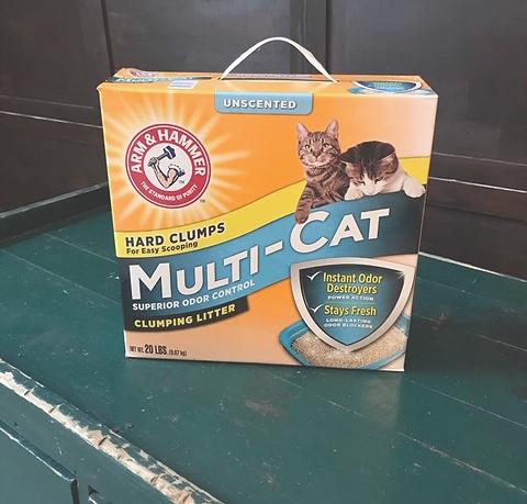 Arm & Hammer Multi-Cat unscented cat litter box