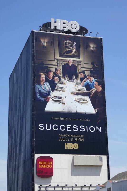 Giant Succession season 2 billboard