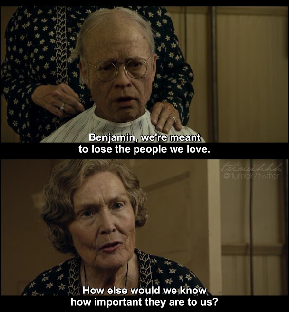 Movie Marathon | The Curious Case of Benjamin Button quotes