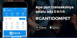 Cara Menggunakan Aplikasi DANA - Dompet Digital Indonesia