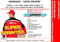 Lowongan Kerja Surabaya di J&T Express Bukit Palma April 2020