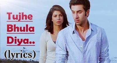 tujhe bhula diya lyrics - mohit chauhan