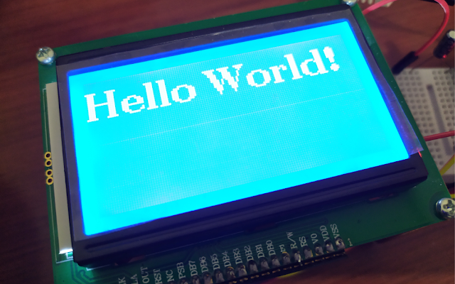 Interfacing ESP32 with LCD 128x64