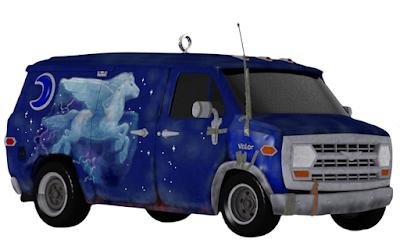 Disney and Pixar's Onward Guinevere Barley's Van Ornament