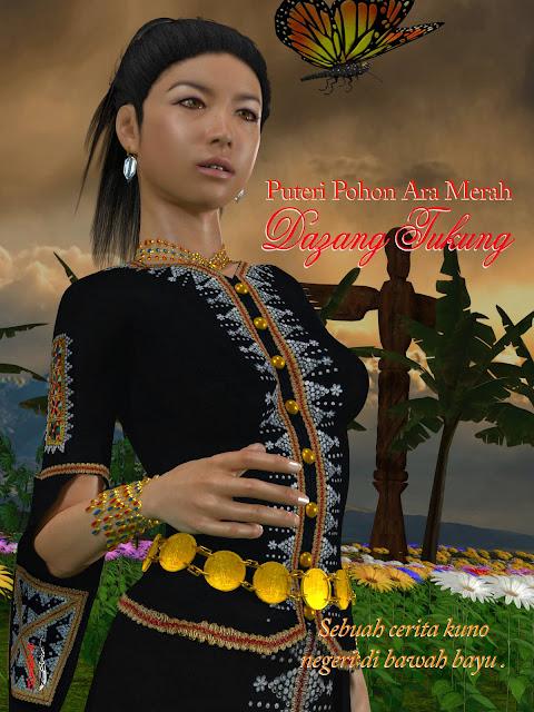 Filem Animasi  CGI Sabahan Dazang Tukung Dalam Bahasa KDMR   Winichelen Wongkin