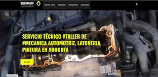 Diseño web www.renaultectaller.com