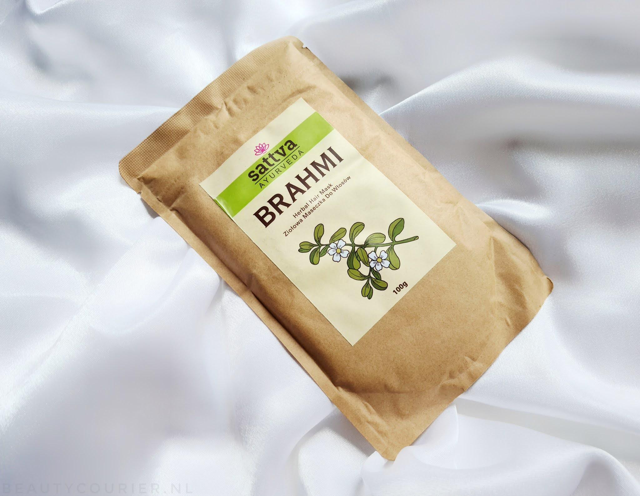 sattva ayurveda brahmi herbal hair mask