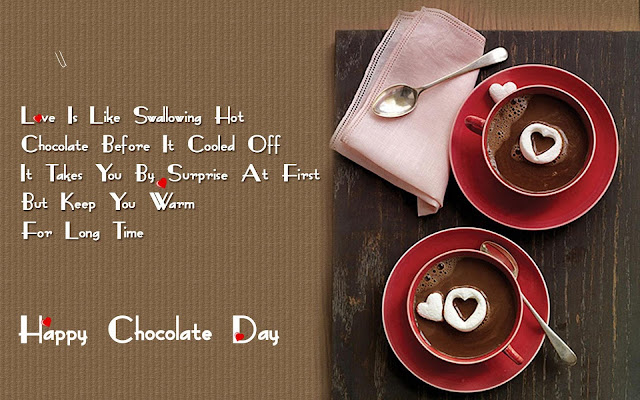 Chocolate Day Pics With SMS Messages