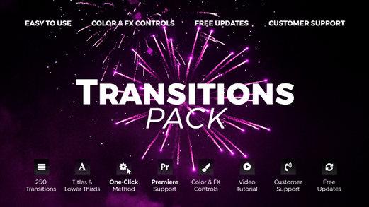 قالب افتر افكت مجاني - باقة انتقالات متنوعة رائعة جدا - CS5.5 فأعلى