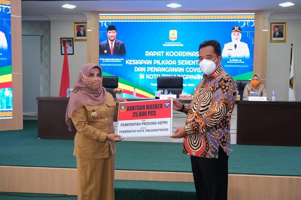 Gelar Rapat Koordinasi, Pjs Gubernur Kepri Ajak Masyarakat Gunakan Hak Pilihnya Pada Pilkada 2020