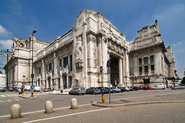 Estação centrale em Milão