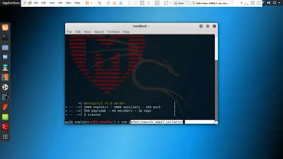 How to Extract Email Information Using Metasploit Framework