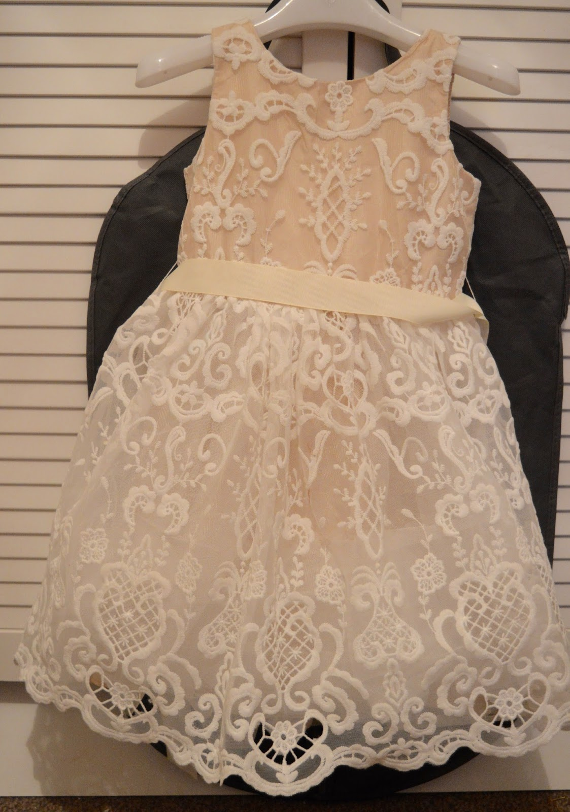 A Girl's Christmas Party Dress from Roco - a review. Perfect for flower girls and weddings
